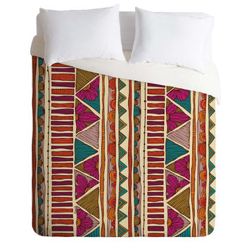 Valentina Ramos Ethnic Stripes Duvet Cover