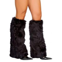 Roma Costume Fur Boot Covers