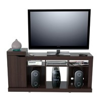 Inval America Modern 50 Inches Flat-Screen TV Stand In Espresso-Wenge