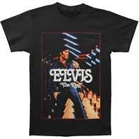 Elvis Presley Men's  The King T-shirt Black