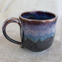 Unique coffee mug, Pottery, Large, 20 oz, made to order