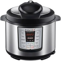 Instant Pot IP-LUX50 Stainless Steel 5-Quart 6-in-1 Multi-Functional Pressure Cooker - Walmart.com