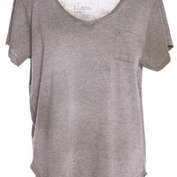 WILD FIRE TEE/ ARMY BY FREE PEOPLE