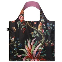 MAD Arabesque Tote Bag with Plants Design in Black