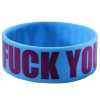 Fuck You Wristband - Buy Online at Grindstore.com