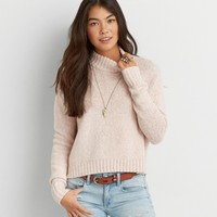 AEO CROPPED PULLOVER SWEATER