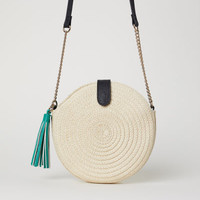 Round Straw Bag - from H&M