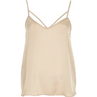 River Island Womens Beige strappy cami top