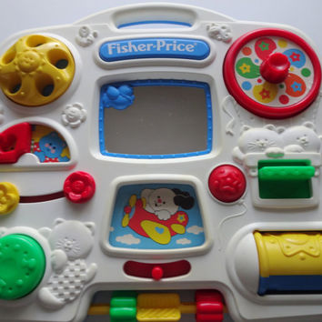 fisher price activity center with door 2
