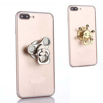 Hand Spinner with Finger Ring Stand Holder Combo