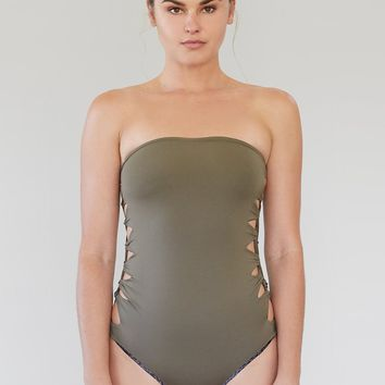 ACACIA Swimwear 2019 Lehia One Piece in Cherimoya