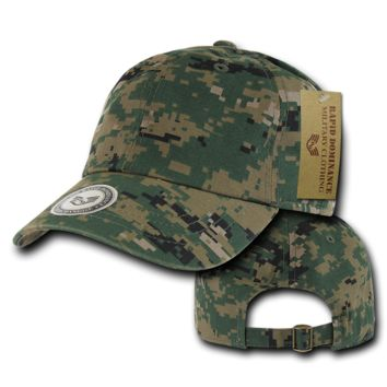 Classic Vintage Style US Military Woodland Digital Camo Hat Hunting Caps