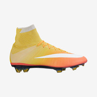 The Nike Mercurial Superfly Women's Firm-Ground Soccer Cleat.