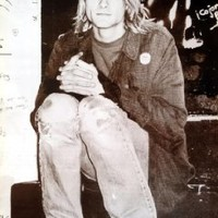 "P-3465 Kurt Cobain Nirvana American Rock Band Music Wall Decoration Poster Size 21""x31"""