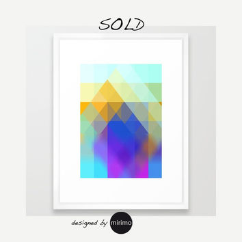 Sold! Framed art print by mirimo | Society6