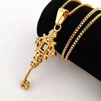 Jewelry New Arrival Stylish Gift Shiny Hip-hop Club Necklace [8439442243]