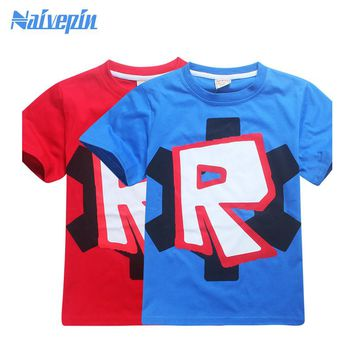 Boys star wars clothing t shirt Kids girls star wars top t-shirt children summer t shirt roblox stardustethical meninos roupas