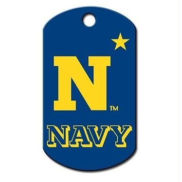 Navy Midshipmen Military ID Tag