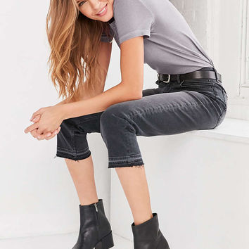 BDG Axyl Mid-Rise Straight-Leg Jean - Washed Black - Urban Outfitters