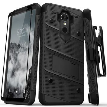 Zizo Bolt Case for LG Stylo 4 - 12 ft. Military Grade Drop Tested + Tempered Glass Screen Protector