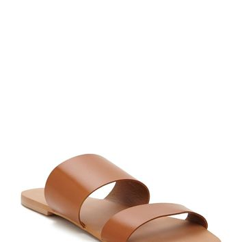 Genuine Leather Slides