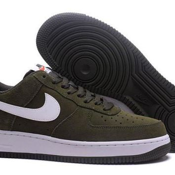 Product Nike Air Force 1 Cargo Khaki & White Men's Casual Shoes Sneakers