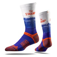 STRIDE 2.0 University of Florida, The Swamp, Gators Crew Socks NEW