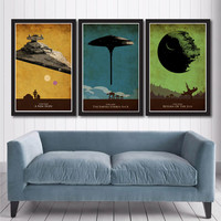 Star Wars Trilogy Poster Set