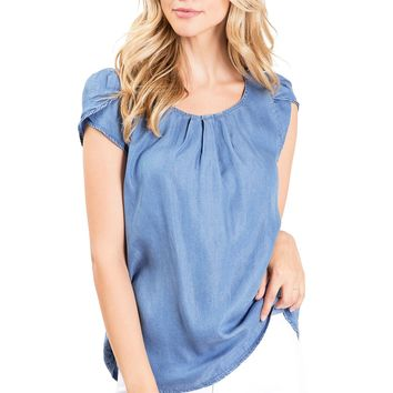 True Chambray Blouse