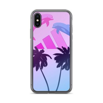 Dolphin Chill : iPhone Case
