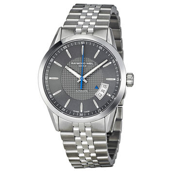 Raymond Weil Freelancer Automatic Grey Dial Mens Watch 2770-ST-60021