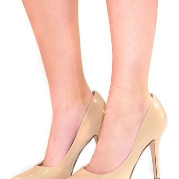 All My Love Heels: Nude - Shoes - Hope's Boutique
