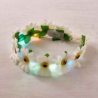 LED Daisy Flower Crown - Urban Outfitters