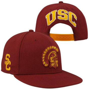 Nike USC Trojans Players True Snapback Hat - Red