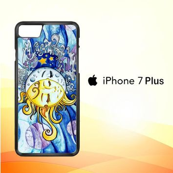 SUN AND MOON Z1074 iPhone 7 Plus Case