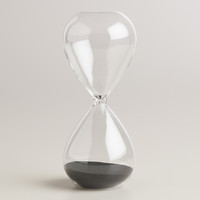 Large Glass Sand Timer - World Market