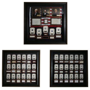 Rare United States of America Presidential Signature Collection