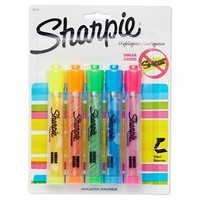 Sharpie® Highlighters, Bold Tip, 5ct - Multicolor : Target