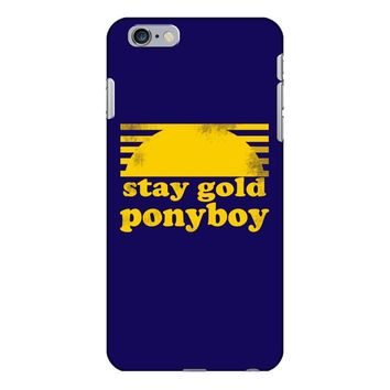stay gold ponyboy the outsiders movie book iPhone 6/6s Plus Case