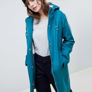 ASOS DESIGN borg lined rainwear at asos.com