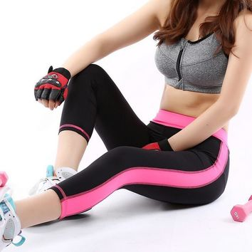 Women Gym High Waist Running Yoga Pants Phone Pockets