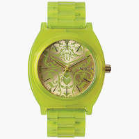 Nixon Time Teller Acetate Watch Neon Yellow/Beetlepoint One Size For Men 25995254601