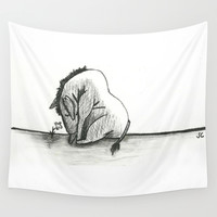Eeyore Wall Tapestry by Sierra Christy Art