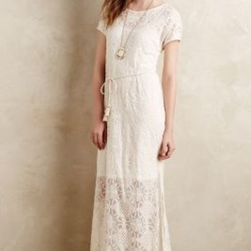 Bellflower Lace Dress by Lilka Cream
