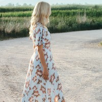Delilah Floral Maxi Dress