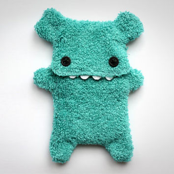 Fellfische - fluffy Cellphone Case for Iphone 3 & 4 - Turquoise Teeth
