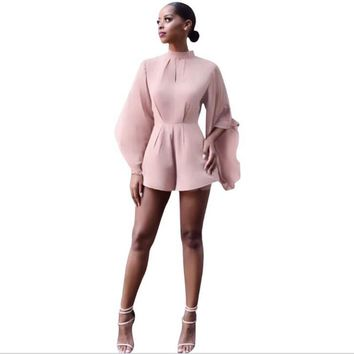 Bat wing Ladies trendy Romper