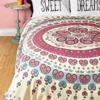 Boho Fit for a Dream Duvet Cover in Full, Queen by ModCloth