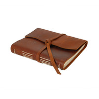 Rustico Leather: Travel Journal Saddle, at 30% off!