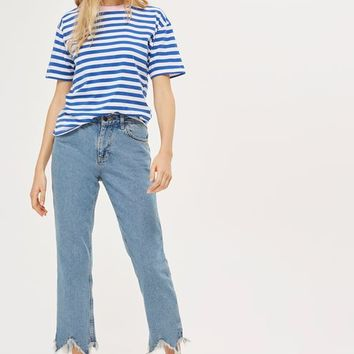 Stripe Contrast T-Shirt - New In Fashion - New In